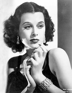 Hedy Lamarr - actress. Invented a system for remote-controlling torpedoes that later gave us Bluetooth & wifi hedy lamarr, peopl, technology, hedi lamarr, star, hollywood, beauty, golden age, actresses