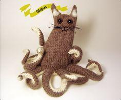 Amigurumi cat octopus...