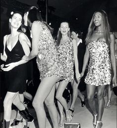 Christy Turlington, Kate Moss, and Naomi Campbell
