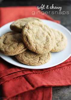 Soft & chewy gingersnaps.