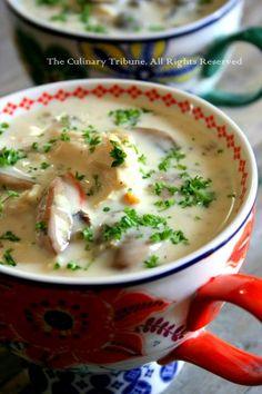 Chicken Mushroom Wild Rice Soup