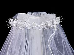 Go with thin ribbons like this