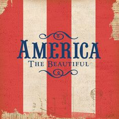 Americana America the Beautiful 12 x 12 Paper ❤ liked on Polyvore