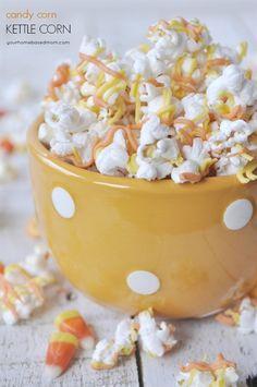 Candy Corn Kettle Corn