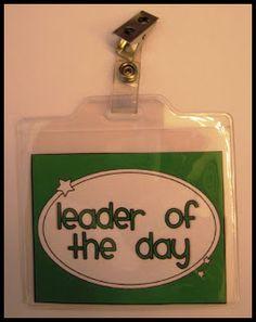 badges, classroompreschool idea, classroom manag, classroom leaders, classroom jobs free, teacher, laughter, classroom organ, kid