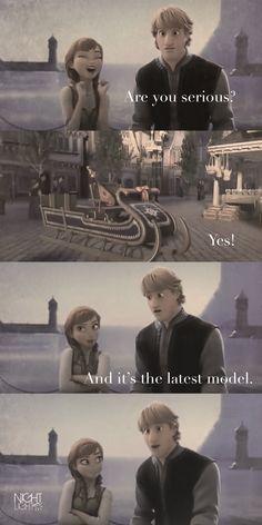 Anna and Kristoff ~ Disney Frozen Fan Art by Liz