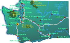 washington state | washington state map shows washington s interstate highways the state ...