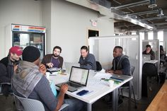 Detroit's co-working spaces lure freelancers and startups with ammenities and community