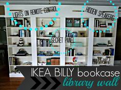 BILLY book shelf