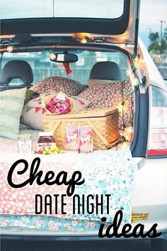 Cheap Date Night Ideas!  Pin now, read later