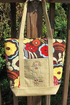 Easy teacher tote bag