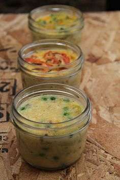 Jar Lunch: crustless quiches 3 ways | krista and jess