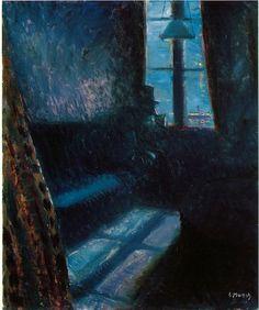 Edvard Munch, Night in St. Cloud, 1890