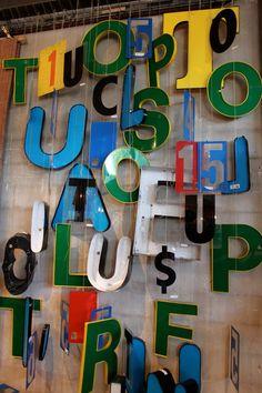 Decor letters