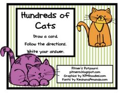 Pitner's Potpourri: Cats, Cats, Cats! - Freebie  *good for beg. of 3rd review
