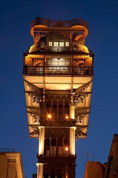 Santa Justa Lift, Lisbon, Portugal elevador de, observ tower, elevator, destinations, architectur, travel toportug, holiday wedding, cottages, citi