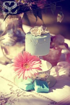 Dainty little tea cake