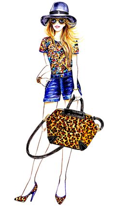 #Lifestyle(series) #Sunny Gu #Jennifer Grace and B #Brian Atwood Leopard handbag