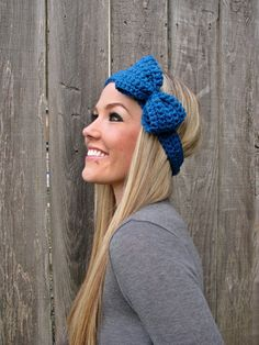 Hand made bow head band