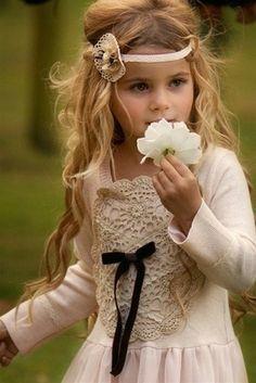 little girls, headband, little princess, flower girl hair, sweet girls, flower children, flower girls, princess fashion, kid