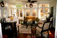 famili room, window, sun porches, dream, decorating ideas, center idea, enclosed porches, sun room, sunroom