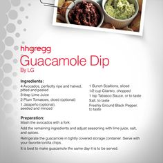 Looking to spice up your weekend with some zest? Try this Guacamole Dip that is easy to make, and delicious!