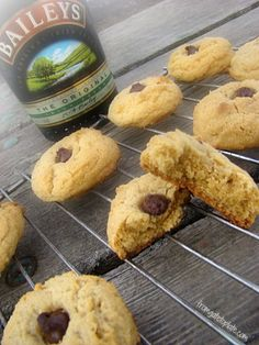 Bailey's Irish Peanut Butter Blossoms -- From Gate to Plate