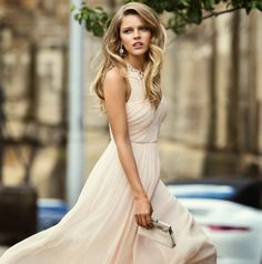 Channel uptown style with Park Avenue; the glamorous new collection from Forever New. Love this feminine blush pink dress.