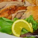 Roasted Duck - an alternative to a traditional holiday main dish.  Get the recipe at www.tootsweet4two.com.