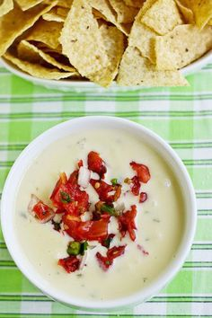 Restaurant style queso dip - I have never been able to duplicate the stuff from our favorite restaurant that closed - willing to give this a try.