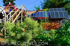 Off-The-Grid Homesteading, Solar and Wind Alternative Energy – PureClothes.com