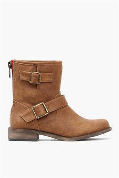 Franki Boots in Tan