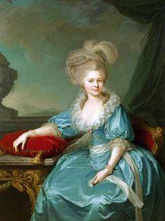 Jean Baptist von Lampi the Elder  Elizabeth Wilhelmine von Wurttemberg  1785