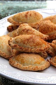 Candied pumpkin empanadas