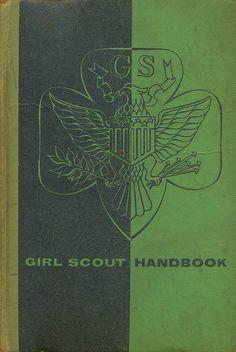 Girl Scout Handbook by Alvin Lustig by Scott Lindberg, via Flickr