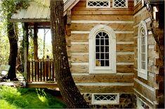 dovetailed log walls