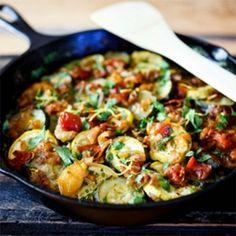Vegan Zuchini Recipe.  Sounds yummy.