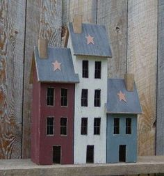 Americana Primitive Wooden Crafts by Raystown Primitives!