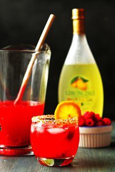 Raspberry Limoncello Lemonade