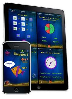 SplashMath has an App for Grades 1 through 5 with multiple math simulations for students to practice. There are correlation charts to the CCSS at this link. These Apps are FREE and allows for up to 5 different student accounts on each device.