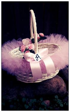 Personalized Easter Basket Girls Easter Basket by LilyBellas, $22.99