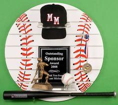 Baseball trophy storage