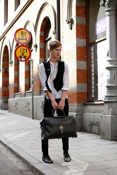 On the Street…..Young Man Of Sodermalm, Stockholm « The Sartorialist