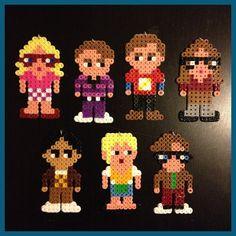 Big Bang Theory Christmas Ornaments (Set of 7). $19.00, via Etsy.