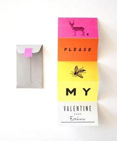 dear, please bee my valentine