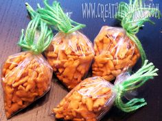 Easter carrot treats for the little ones