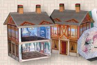 Paper Minis: Miniature Books, Doll and Dollhouse Accessories Available in Multiple Scale, Do-it-yourself DIY Pre-printed Kits Home Page and Site Map   ls