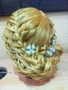 Gorgeous Updo done by hairsbychristine.com