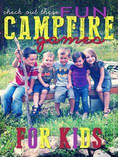 Fun Campfire Games for Kids fun campfir, campfire fun, campfire games for kids, camping fun for kids, campfir game, camping games kids, camping kids games, campfir fun, campfire kids