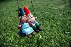 husband and wife gnomes